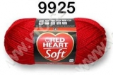 Red Heart Soft č. 9925 - červená